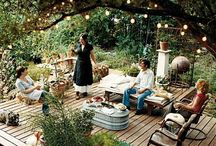 entertainment area/patio