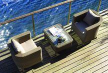 An escape to come home to... /  Bramblecrest woven furniture http://www.bramblecrest.com/product/RSCS2