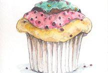Торты, Пироженко, сладости