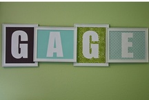Children's Name Decor (Wall) / by Playground Talk