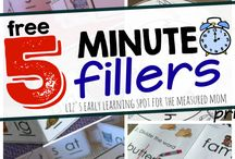 5 minute classroom fillers