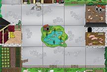 Bee-bot-and-blue-bot-farmyard