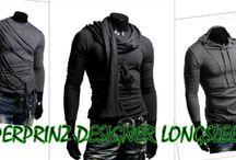 Design Longsleeves / Design longsleeves van het merk Superprinz. Trendy design van hoge kwaliteit. Leverbaar in verschillende maten. Kijk nu snel op: www.slimfitstore.nl