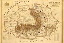 Harta veche a Romaniei