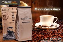 Brown Paper Bags / Our #BrownPaperBags give your products a more natural look and they are an eco-friendly and economical choice for millions of people around the world. We offer #PaperBags in various types.  http://www.coffeevalve.com/