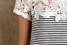 blusas com detalhes em renda