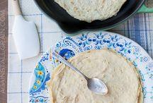 Paleo flat bread / Bread