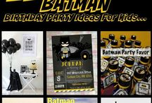 Birthday party - Batman