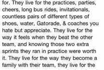 Track and field / My way of life