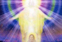 Cristo y luz divina