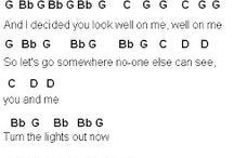 notes/chords/sheets