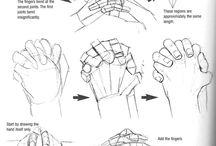. how to draw hands and arms