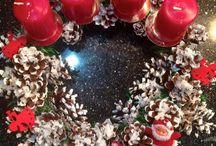 Рождественские декорации / мои работы