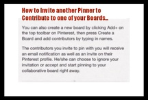 Pinterest How To / by Margie Tiefuhr