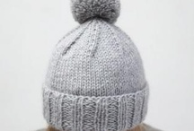crochet and knit hats