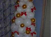 Новый год шарики