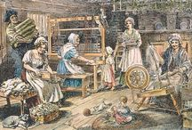 18th c American Activities and Clothing