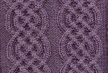 aran, irish, afghan knitting