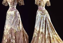 1900's Worth ball gowns