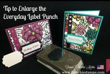 Everyday Label Punch Stampin Up