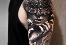 Tattoo - mask