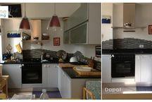 """Treshome #PrimaeDopo / Lavori """"prima e dopo"""" un progetto di #homestaging"""