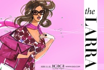 PLUS SIZE FASHION ILLUSTRATIONS / My Absolutely Favorite Fashion Illustrations!!