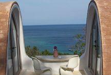 Enjoy the view / wherever  you go enjoy the view