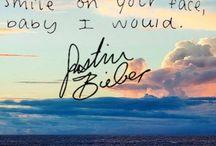 Justin bieber lyric quote