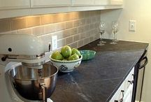 Soapstone Countertops / Countertops made from Soapstone for kitchen and bath