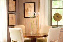 Sala de estar/jantar e cozinhas pequenas