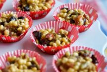 Baking with kids / These are very easy bakes that kids could do, with a helping hand from adults.