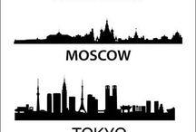 Országok, Városok