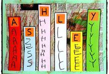 Alphabet et chiffre / alphabet, mémoriser les lettres, apprendre à écrire
