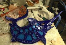 Fish with attitude / Ceramic