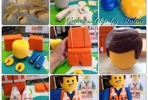 Lego Movie Emmet Cake Topper