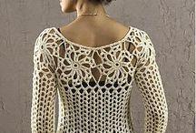 blusas a crochet