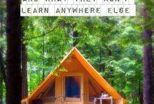 Oooo camping