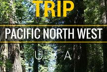 Spring Break 2016 / Road trip from Seattle to San Fransisco!