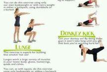 Booty workouts / by Jennifer Smith