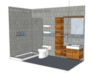 BATHROOM: 5x10 / Want a free design for your bathroom space?  Send info to marmotechpr@gmail.com or visit Marmotech, Inc. at FACEBOOK.