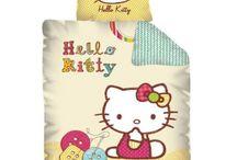 Hello Kitty beding collection | Hello Kitty kolekcje pościeli dziecięcej / Hello Kitty beding set and accesories collection | Hello Kitty kolekcje pościeli dziecięcej ręczników i kocy