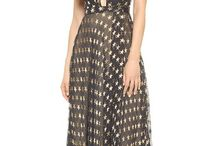 Tamara Star Chiffon Gown