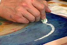 Art - Encaustic Demo / by Donna Binkley