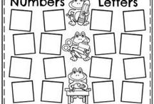 PreK Letters and Numbers