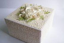 caixa com relevo
