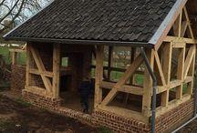 dřevo stavby