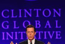 Clinton Global Initiative University - 2013 / Stephen Colbert interviews former president Bill Clinton at the 'Closing Plenary Session' of CGI U 2013. / by Colbert News Hub