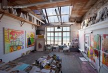 Art studios / Ateliers all over the world