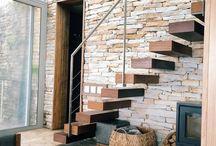 pareti interne in pietra di Trani